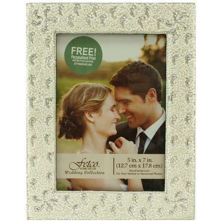 Fetco Beaded Photo Frame