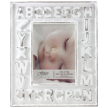 Fetco 5'' x 7'' Alphabet Photo Frame