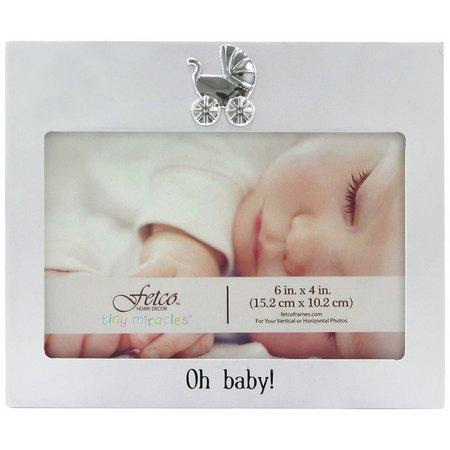 Fetco 6'' x 4'' Oh Baby Photo Frame