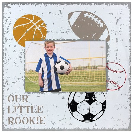 Fetco Our Little Rookie Photo Frame