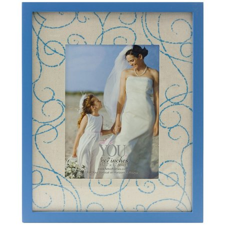 Fetco 5'' x 7'' Scrolls Photo Frame