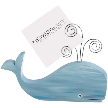 Midwest-CBK Whale Photo Holder