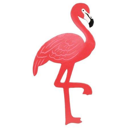 Dennis East Wood Flamingo Wall Art