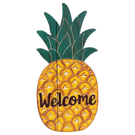 Dennis East Wood Pineapple Wall Art