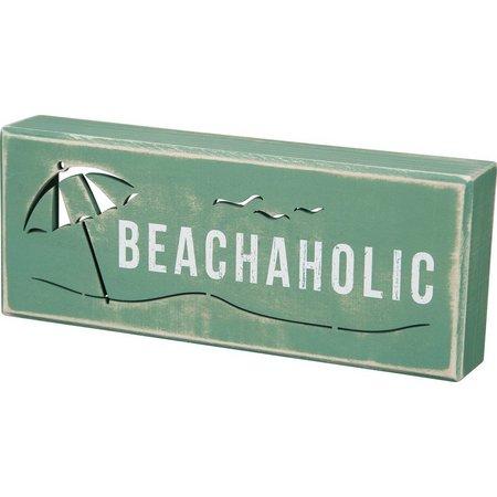 Primitives By Kathy Beachaholic Box Sign
