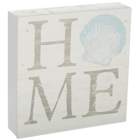 P. Graham Dunn Home Sea Shell Box Sign