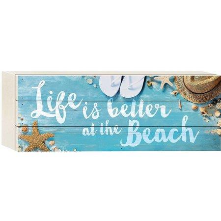 P. Graham Dunn Better At The Beach Plank