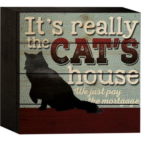P. Graham Dunn It's Really The Cat's House