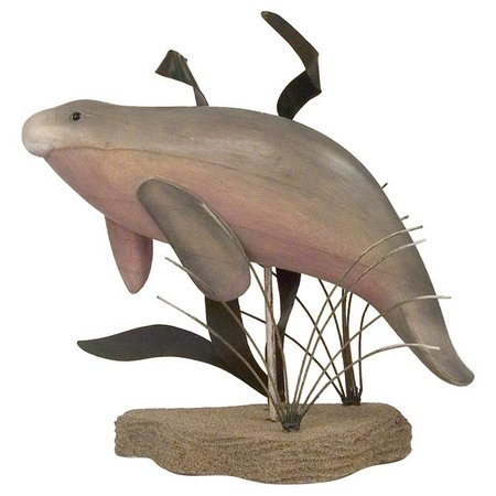 T.I. Design Manatee Table Top Figurine