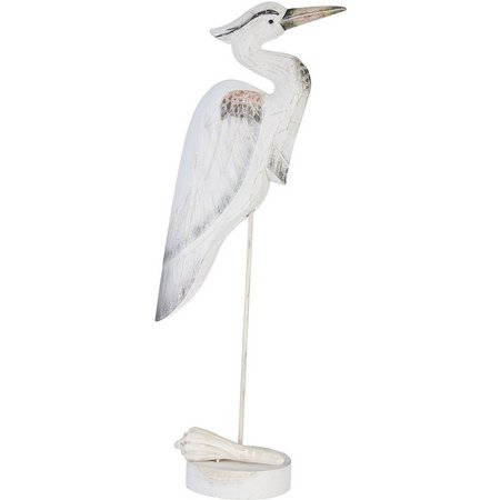 T.I. Design 25'' Heron Figurine