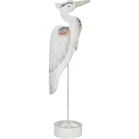 T.I. Design 22'' Heron Figurine