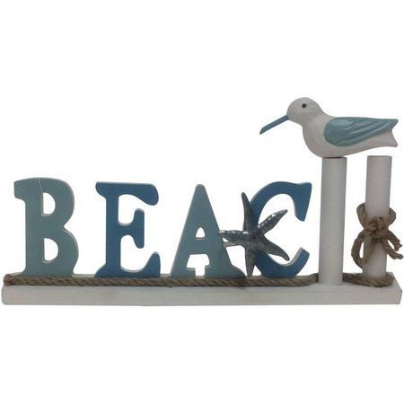 Fancy That High Tide Beach Shorebird Block Sign