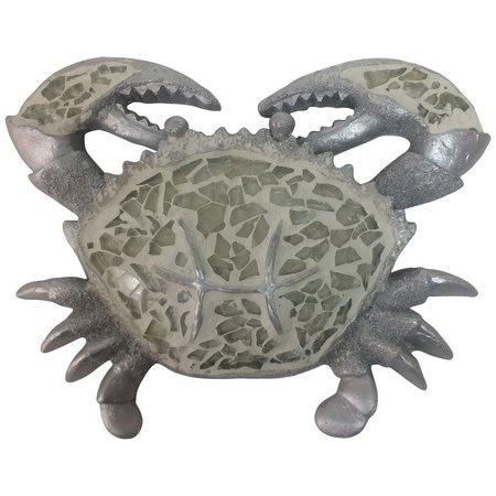 Fancy That Sea Life Mosaic Crab Decor