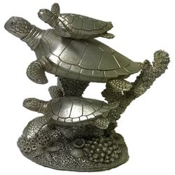 Fancy That Stacked Turtle Figurine