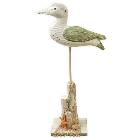 Fancy That Boats & Birds Wood Shorebird Figure