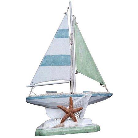 Fancy That Boats & Birds Starfish Boat Figure