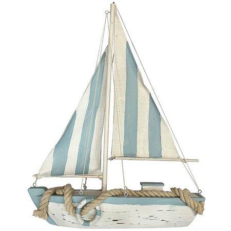 Fancy That Wood Sailboat Figurine