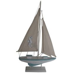 Fancy That Seahorse Sailboat Figure