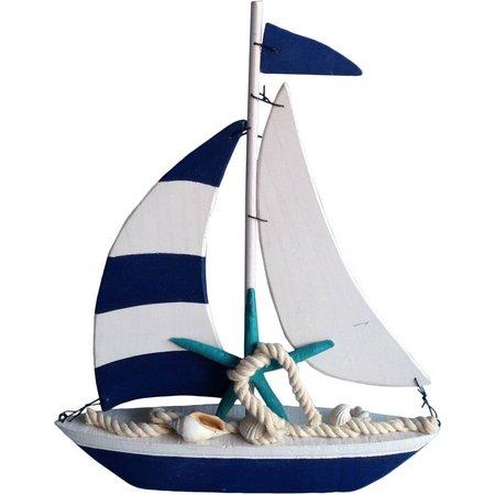 Fancy That Starfish Sailboat Figurine