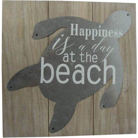 Fancy That Sea Spray Tin Turtles Beach Plaque