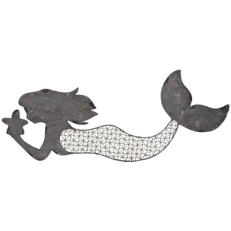 Fancy That Sea Spray Metal Weave Mermaid Figurine
