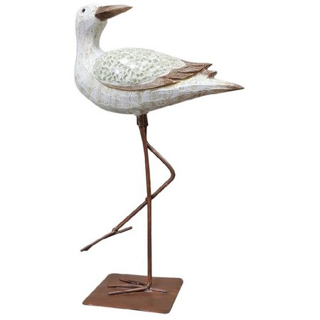 Fancy That Sea Spray Mosaic Shorebird Figurine