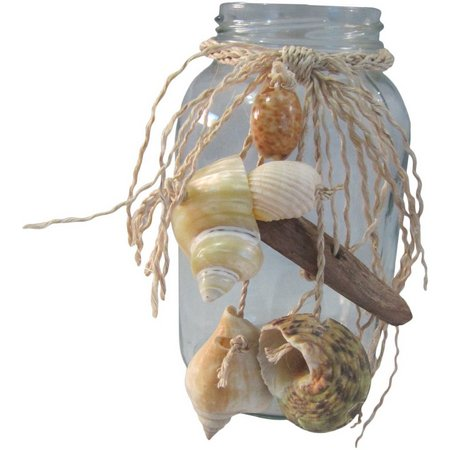 Fancy That Sea Spray Shell Mason Jar