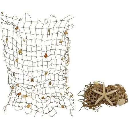 Fancy That Seashell Rope Netting