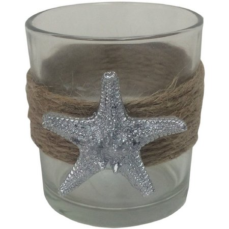 Fancy That Silver Sea Starfish Votice Cup