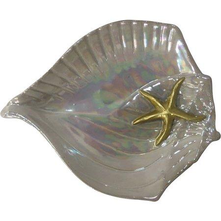 Fancy That Silver Sea Pearl Shell Dish