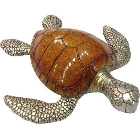 Fancy That Sea Life Resin Turtle Figurine