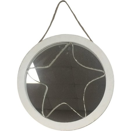 Fancy That Silver Sea 3D Starfish Mirror