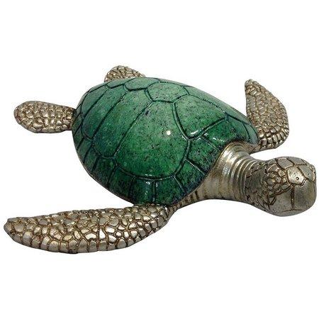 Fancy That Sea Life Mosaic Sea Turtle Figure