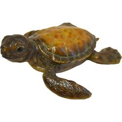 Fancy That Resin Turtle Figurine