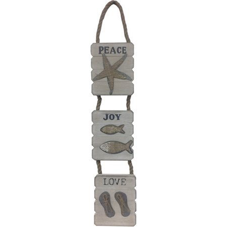 Fancy That 3 Panel Joy Peace Love Wall