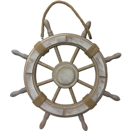 Fancy That Large Ship Wheel Wall Decoration