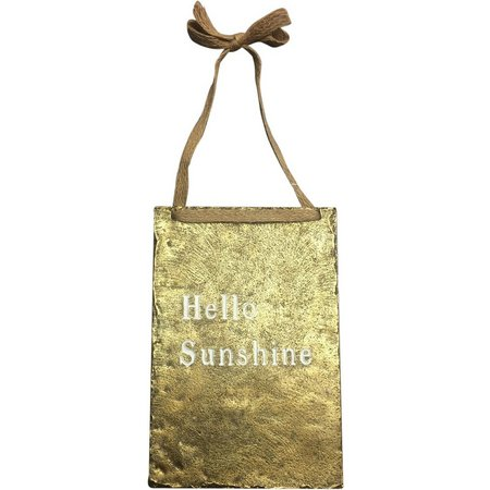 Fancy That Hello Sunshine Wall Plaque