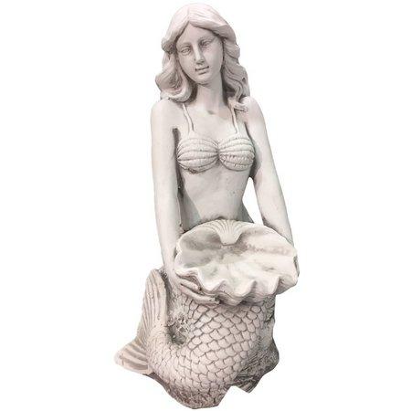 Fancy That Seafoam Mist Sitting Mermaid Figurine