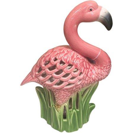 Fancy That Fancy Flamingo LED Ceramic Flamingo Figurine