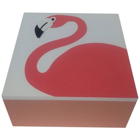 Fancy That Fancy Flamingo Large Flamingo Box