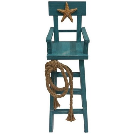 Fancy That Seafoam Mist Wooden Lifeguard Chair