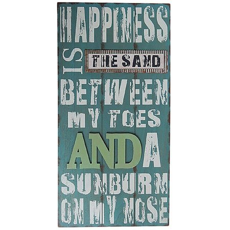 Fancy That Happiness Is Wall Plaque