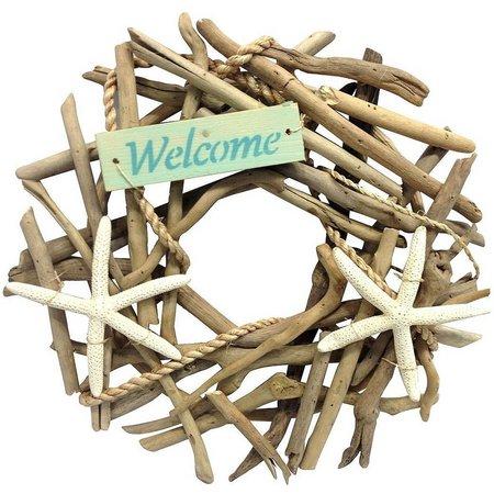 Fancy That Tiki Time Welcome Starfish Wreath