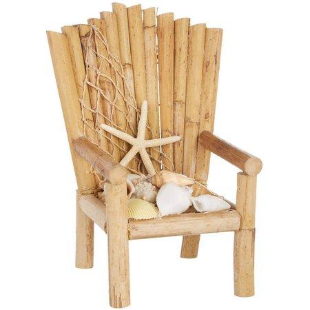 Fancy That Tiki Time Bamboo Chair Decor