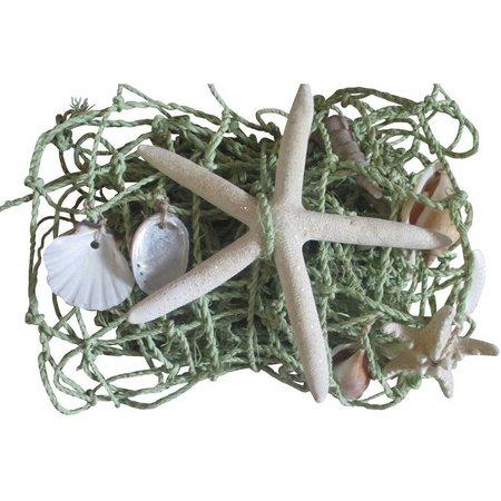 Fancy That 59'' Seagreen Shell Netting