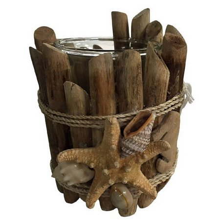 Fancy That Natural Driftwood Votive Candleholder
