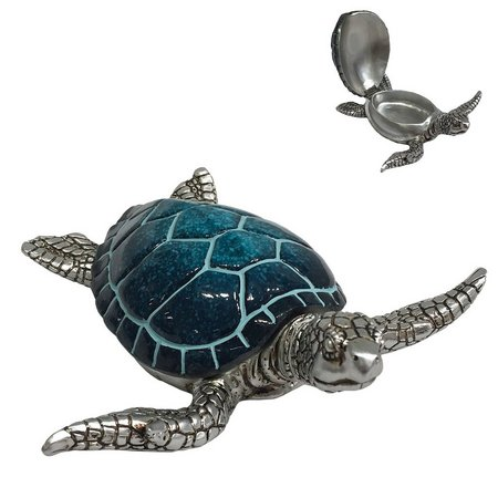 Fancy That Oceania Turtle Trinket Box