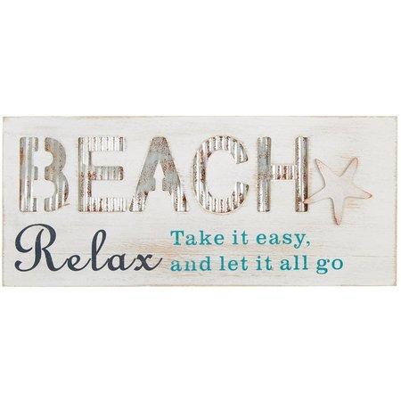 Fancy That Oceania Beach Relax Plaque