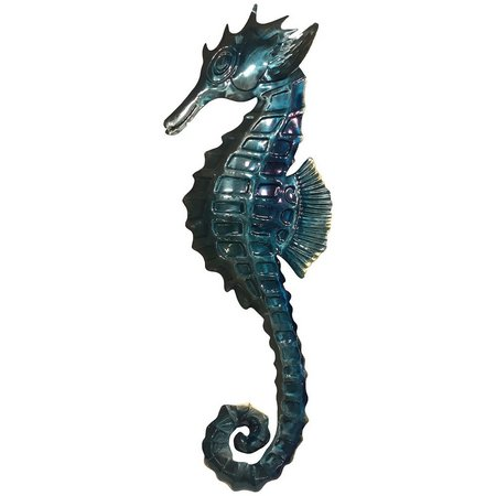 Fancy That Oceania Metal Seahorse Wall Decor