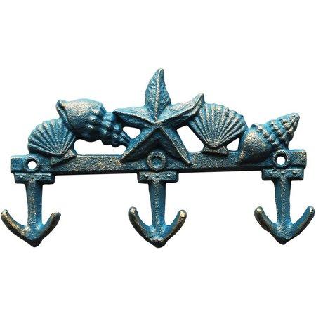 Fancy That Oceania Shell & Anchor Wall Hook